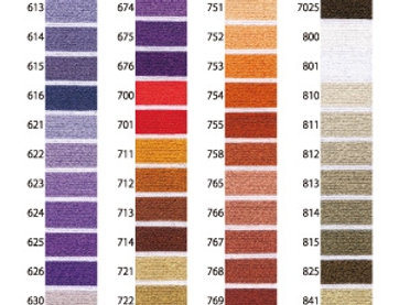 Solid #25 Embroidery Thread - 4 - (pack of 12)