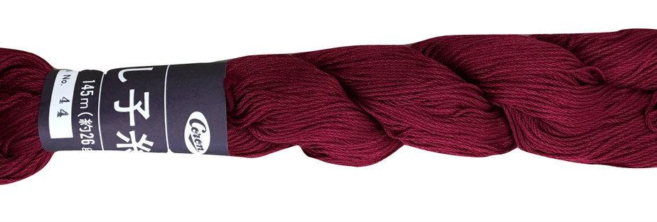 Coron Sashiko Thread - Maroon (per skein)