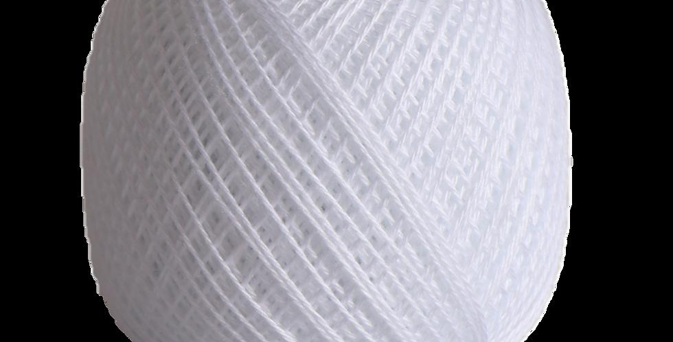 Sashiko Thread Fine White 80m STF-201 (3 balls)