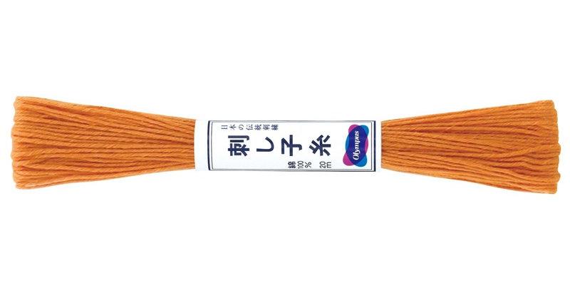 Olympus Sashiko Thread 20m ST-4 Burnt Orange (6 skeins)