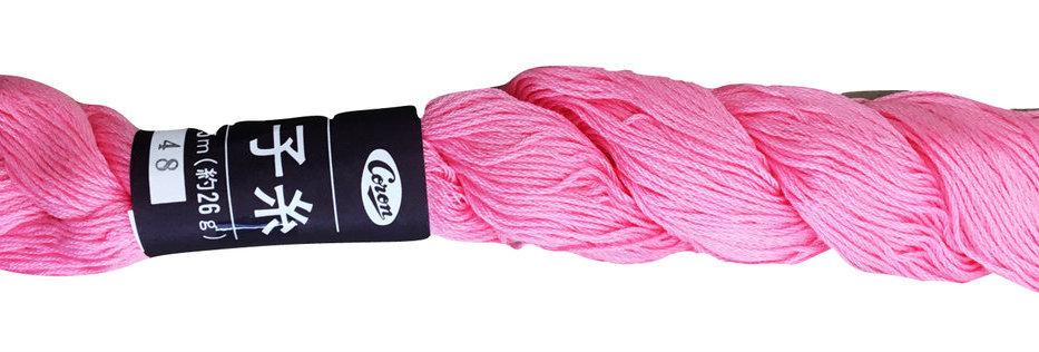 Coron Sashiko Thread - Light Pink (per skein)