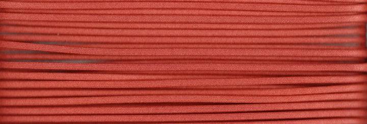 Waxed Cotton Cording *3mm - Terracotta 10 (1 card)