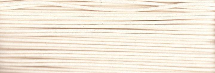 Waxed Cotton Cording *5mm - Natural 3 (1 card)