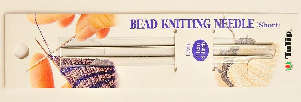 Tulip Bead Knitting Needle ~ Short (10 packs per box)
