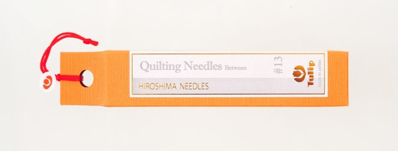 Tulip Quilting Needles Between #13 (6 packs per box)