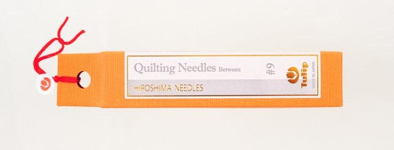 Tulip Quilting Needles Between #9 (6 packs per box)