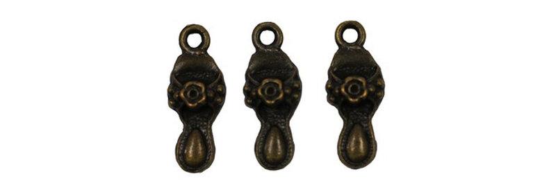 Metal Zip-Pulls Slipper (pack of 3) (FK18-AG)