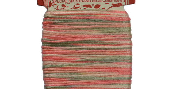 Embroidery Thread - Multi Color Mix (12mt) ET-M1 (pack of 3)