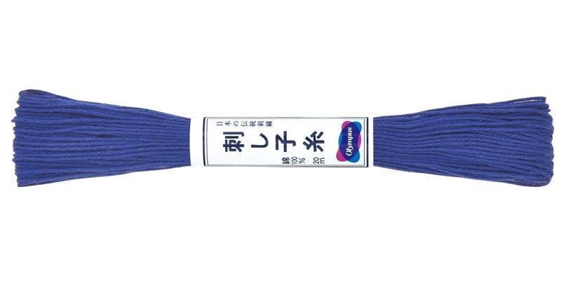Olympus Sashiko Thread 20m ST-23 Bright Blue (6 skeins)