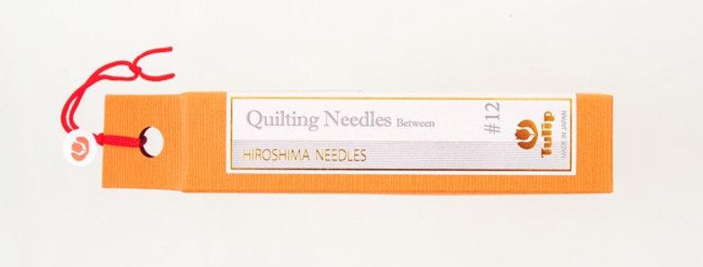 Tulip Quilting Needles Between #12 (6 packs per box)
