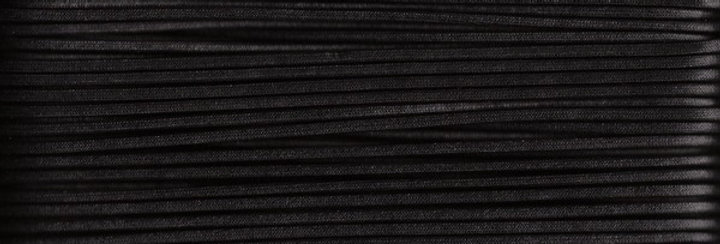 Waxed Cotton Cording *3mm - Black 26 (1 card)