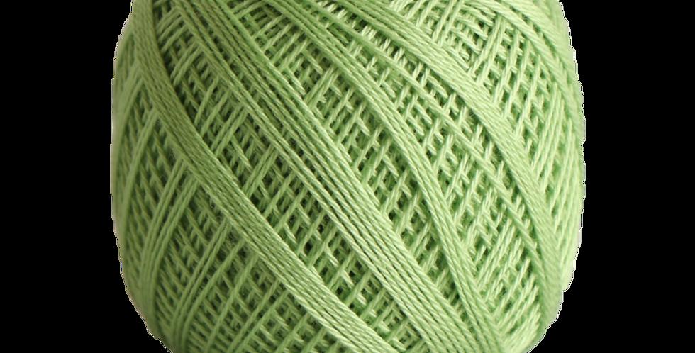 Sashiko Thread Fine Lime Green 80m STF-206 (3 balls)