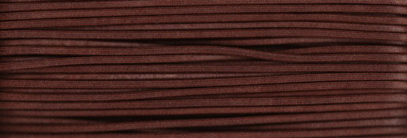 Waxed Cotton Cording *3mm - Mid Brown 24 (1 card)