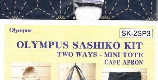 Olympus Sashiko 2-way Kit ~ Asanoha Navy (SK-2SP3) x3
