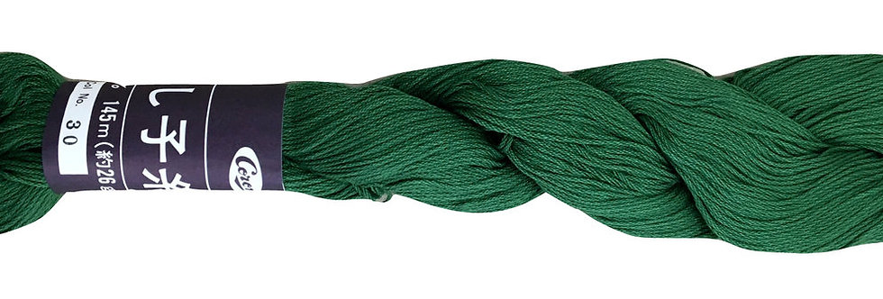 Coron Sashiko Thread - Forest Green (per skein)