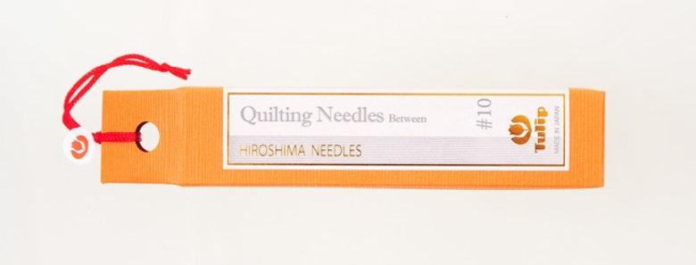 Tulip Quilting Needles Between #10 (6 packs per box)