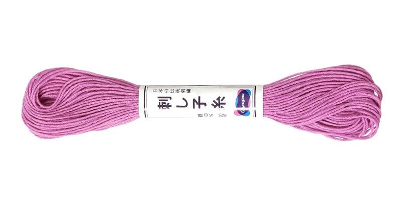 Olympus Sashiko Thread 20m ST-24 Light Purple (6 skeins)