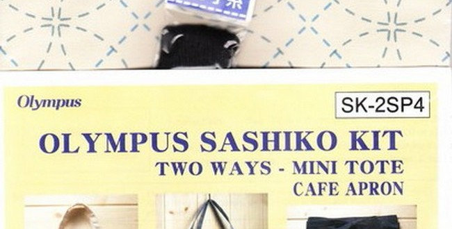 Olympus Sashiko 2-way Kit ~ Shippo Off-White (SK-2SP4)
