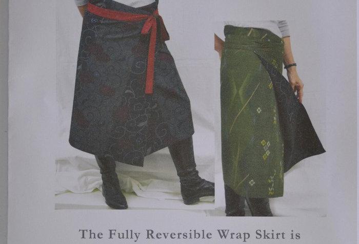 Reversible Wrap Skirt Pattern (PGWS-0140)