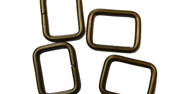 Rectangle Ring 22mm x 28mm (4 per pack) (AK-5-28)
