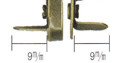 Magntic Closures Antique Gold Colour 14mm (4 per pack)