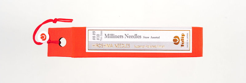 Tulip Milliners Needles #8 #9 #10 (6 packs per box)