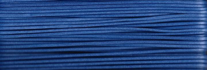 Waxed Cotton Cording *5mm - Blue 22 (1 card)