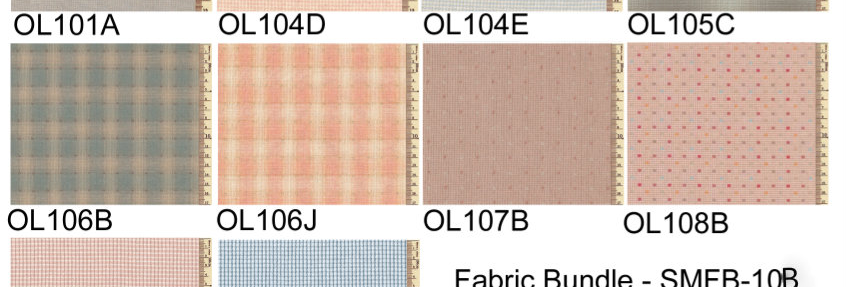 Fabric Bundle Pink & Blue