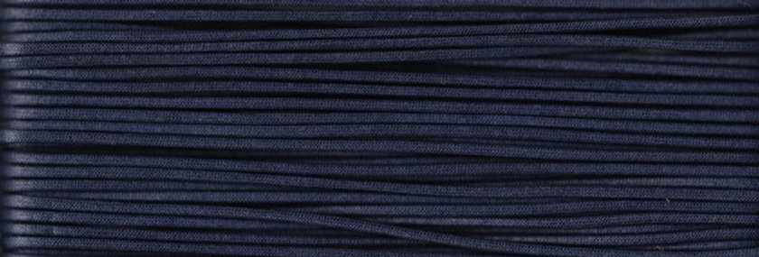 Waxed Cotton Cording *5mm - Navy 23 (1 card)