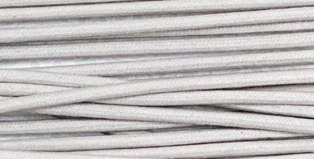 Waxed Cotton Cording *5mm - Light Grey 8 (1 card)
