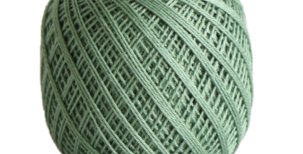Sashiko Thread Fine Green 80m STF-207 (3 balls)
