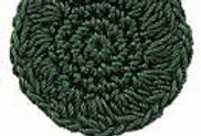 SOLID  Emmy Grande Moss Green (box of 3)