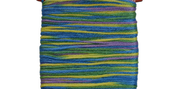 Embroidery Thread - Multi Color Mix (12mt) ET-M6 (pack of 3)
