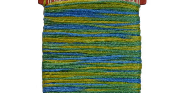 Embroidery Thread - Multi Color Mix  (12mt) ET-M3 (pack of 3)