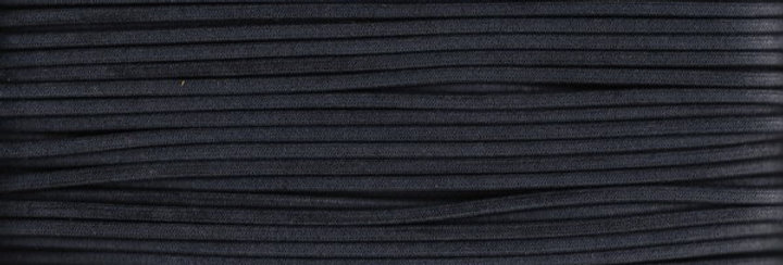 Waxed Cotton Cording  *5mm - Charcoal 9  (1 card)