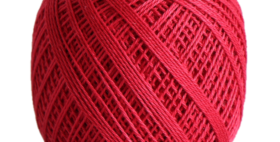 Sashiko Thread Fine Red 80m STF-212 (3 balls)