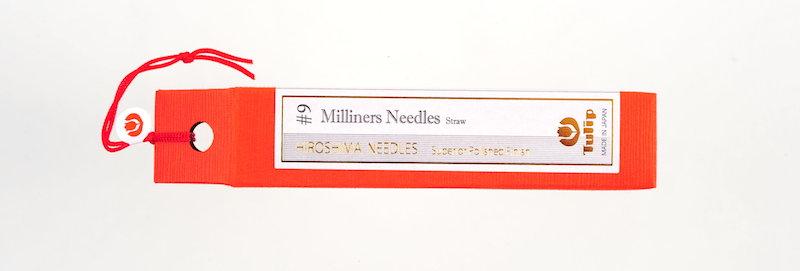 Tulip Milliners Needles #9 (6 packs per box)