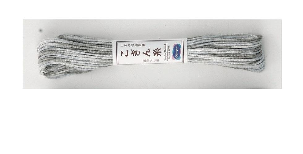 Variegated Kogin Thread 18mt Grey (pack of 3) KT-41