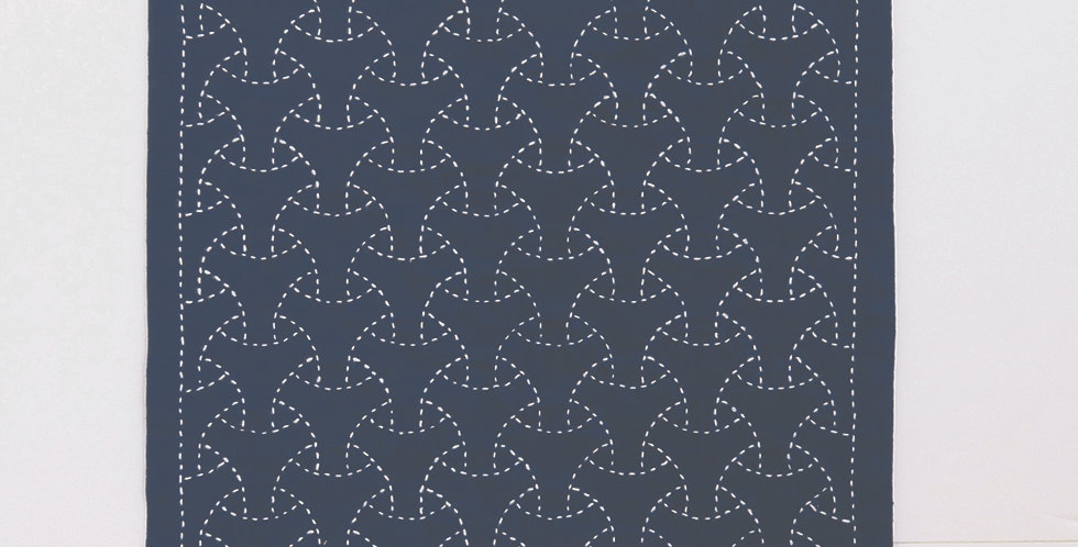 Sashiko Sampler Kit - Maru Bishamon (OK-203) x3