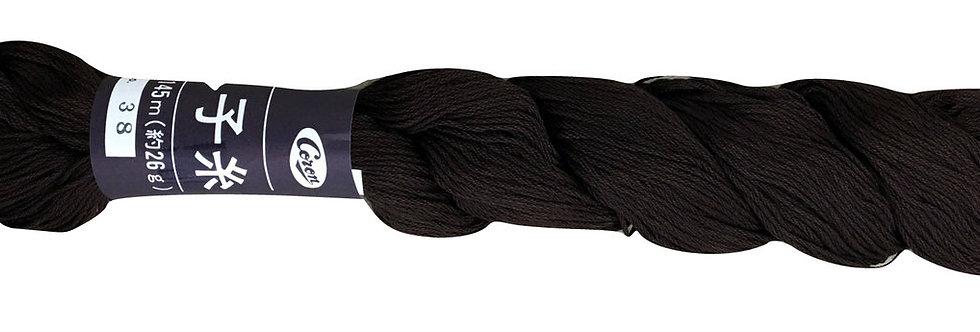 Coron Sashiko Thread - Dark Brown (per skein)