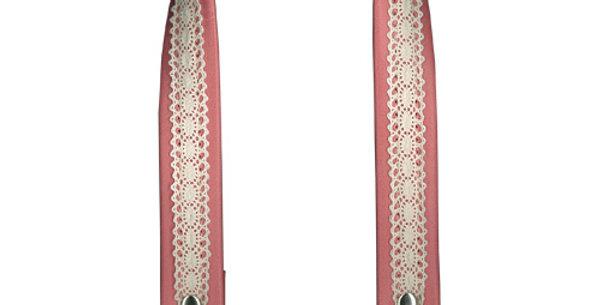 Clip on Bag Handles Lace Detail 40cm (YAK-4058)