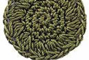 SOLID  Emmy Grande Seaweed Green (box of 3)