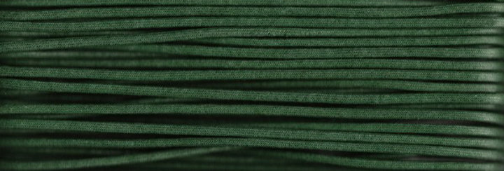 Waxed Cotton Cording *5mm - Green 15 (1 card)