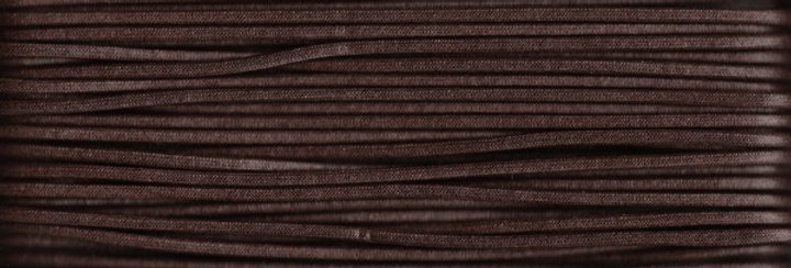 Waxed Cotton Cording *5mm - Dark Brown 25 (1 card)