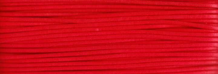 Waxed Cotton Cording *5mm - Red 2 (1 card)