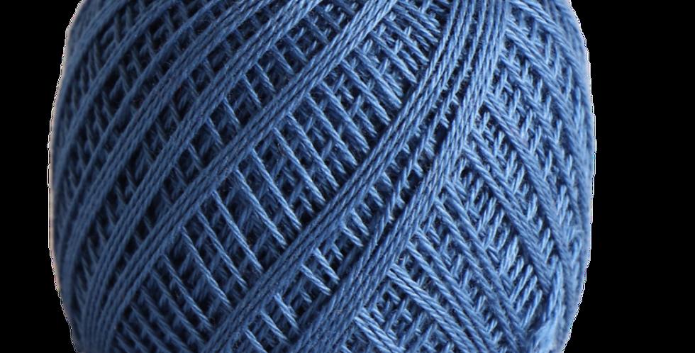 Sashiko Thread Fine Blue 80m STF-210 (3 balls)