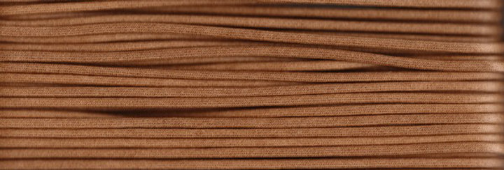 Waxed Cotton Cording *3mm - Light Brown 5 (1 card)
