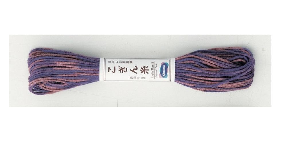 Variegated Kogin Thread 18mt Purple (pack of 3) KT-61