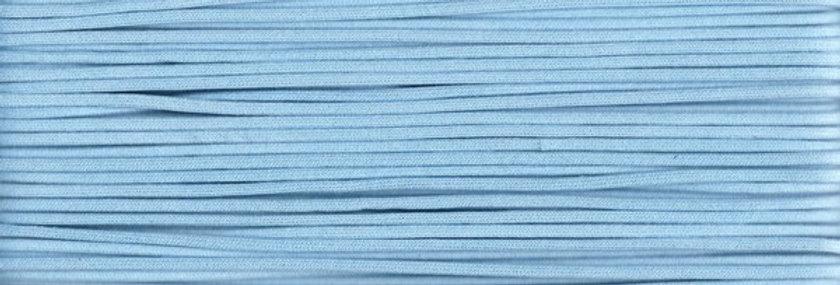 Waxed Cotton Cording *3mm - Light Blue 18 (1 card)