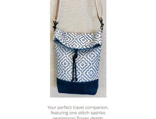 Sashiko Lucy Locket Pocket Bag Pattern